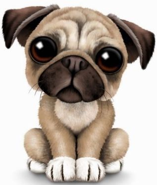 Free Pug Cliparts, Download Free Clip Art, Free Clip Art on.