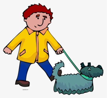 Free Person Walking Clip Art with No Background.