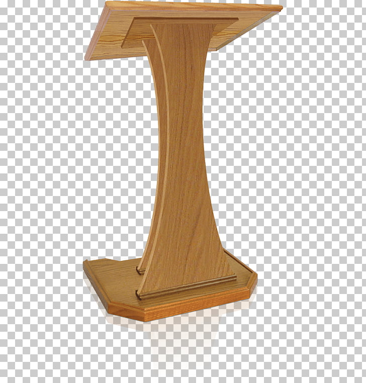 Pulpit Lectern Table Church Podium, wooden podium PNG.