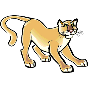 Puma clipart, cliparts of Puma free download (wmf, eps, emf.