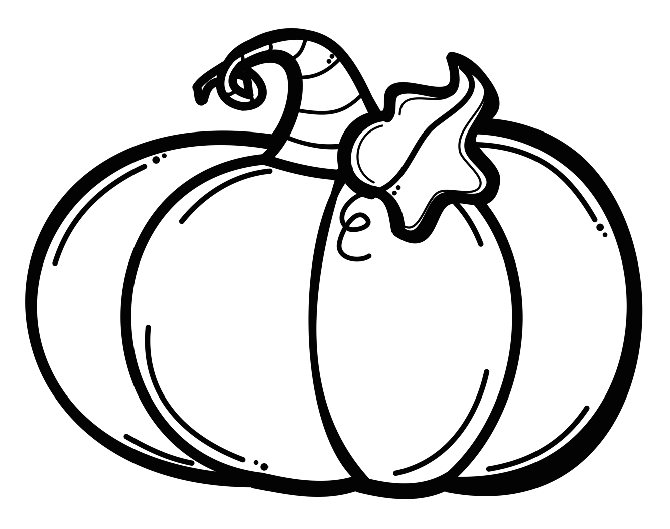 Library of banner free library pumpkin black and white png.