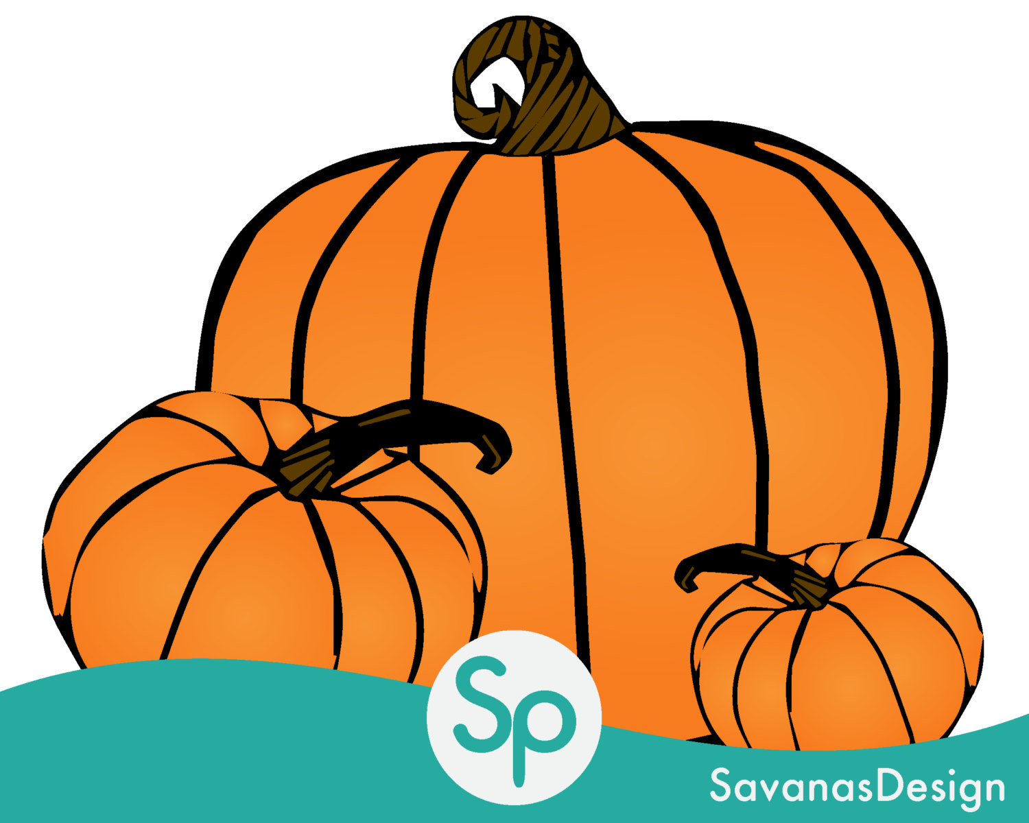 Pumpkin Clip Art, Pumpkin Vector, Pumpkin Decorating, Pumpkin Wall.