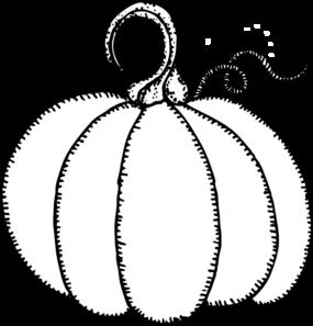 Pumpkin Outline Template.