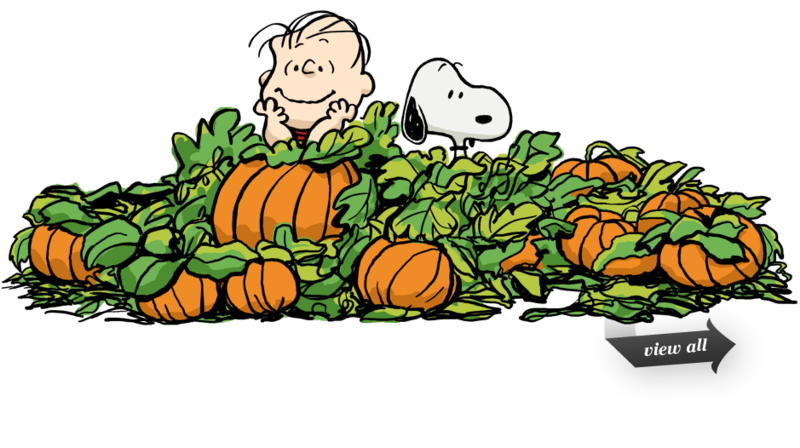 Download Free png Snoopy pumpkin patch clipart.