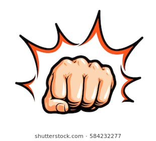 Fist punch clipart 7 » Clipart Station.