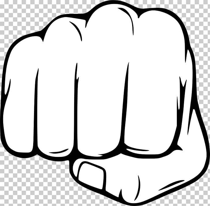 Punch Fist Stock photography, fist, white fist illustration.
