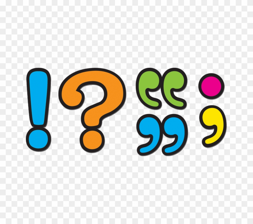 Punctuation Marks Clip Art.