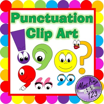 Punctuation Marks Clipart Worksheets & Teaching Resources.
