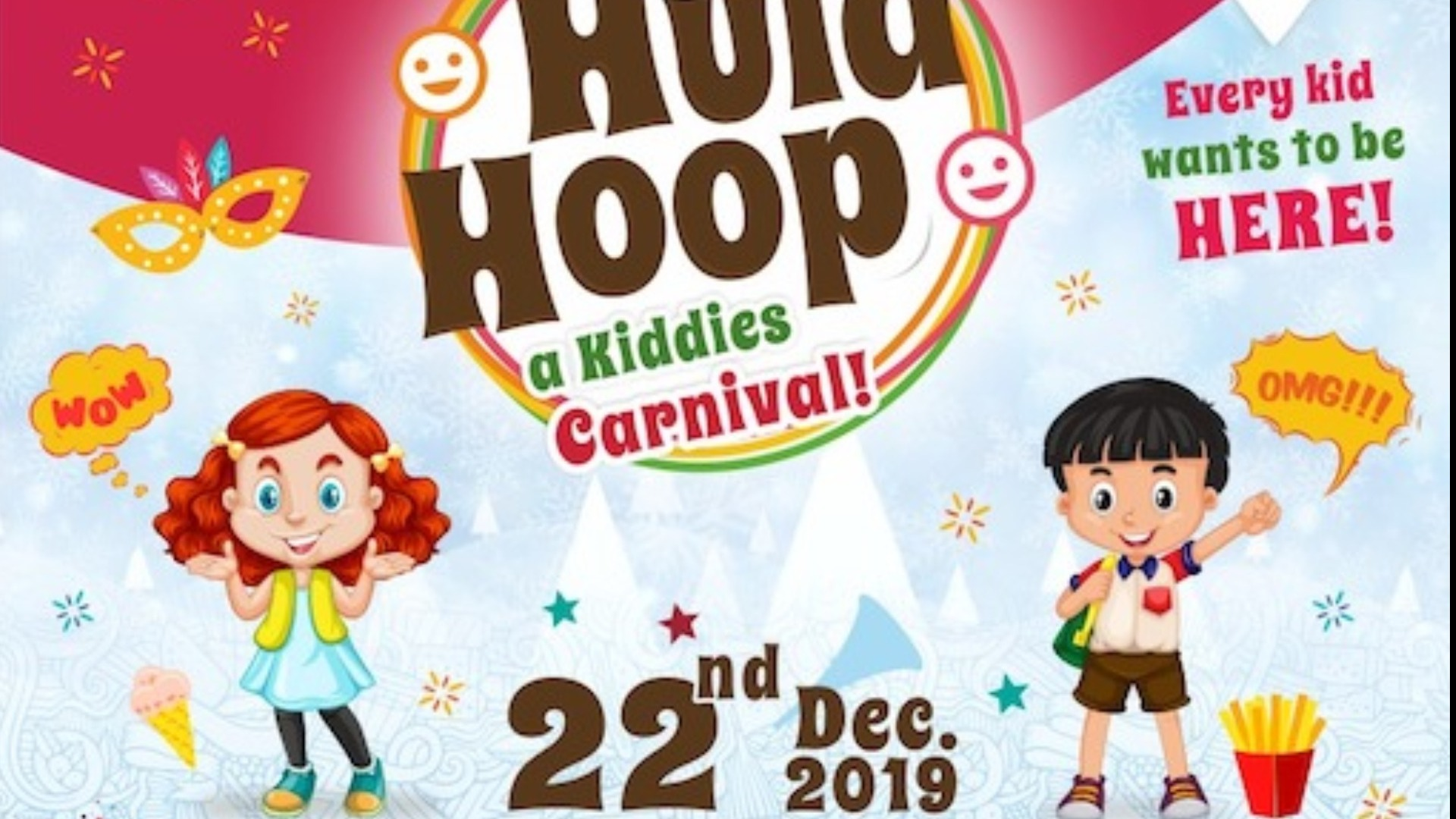 Hula Hoop Kids Carnival Tickets by hulahoop kids, Sat Dec 21.