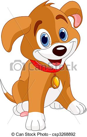Pup clipart 4 » Clipart Station.