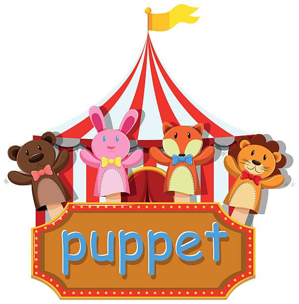 Sock Puppet Clipart.