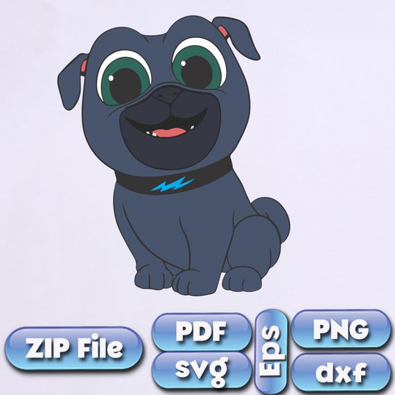 Puppy Dog Pals SVG Dxf PNG Eps Rolly Bingo clipart Puppy Dog Pals Bingo  party Puppy Dog Pals birthday Puppy Dog Pals Instant Download.