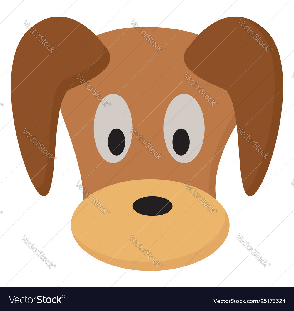 Clipart face a cute puppy or color.