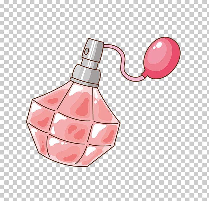 Perfume Cartoon Illustration PNG, Clipart, Bottle, Cartoon.