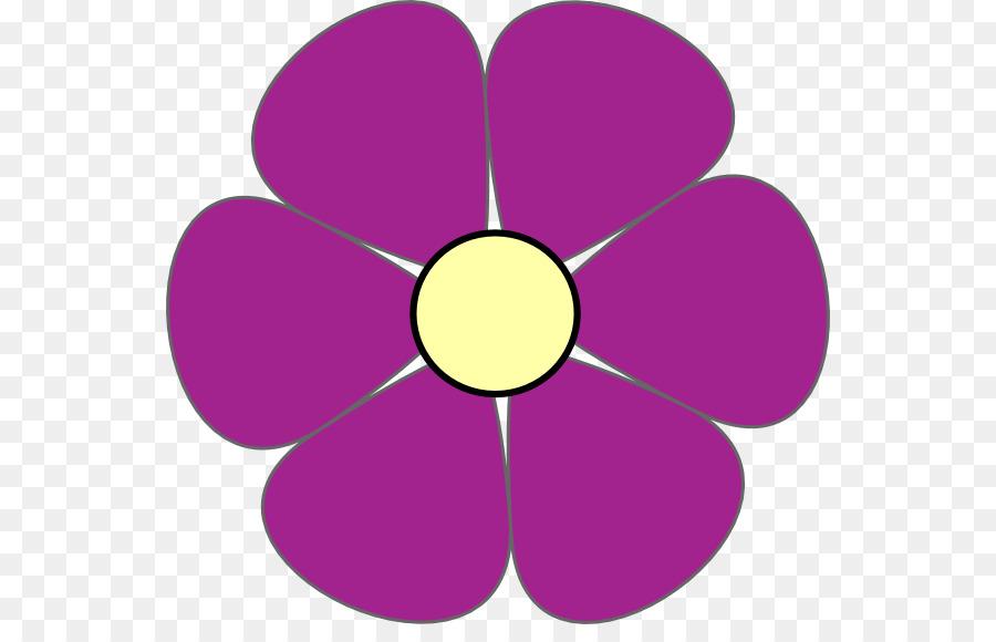 Clipart purple flowers » Clipart Station.