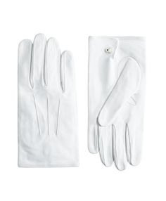 Details about Men's White Gloves for Tuxedo, Clergy or Formal Wear.