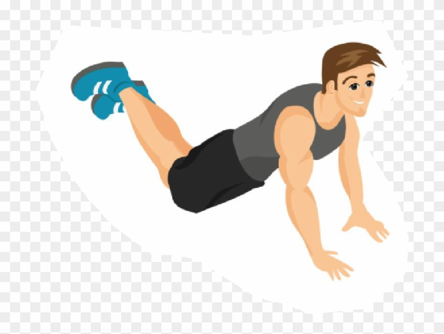 Exercise Clipart Push Up.