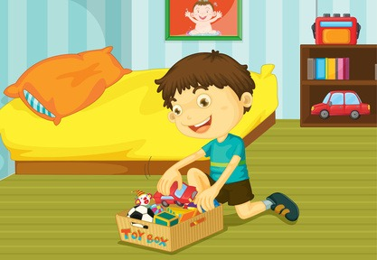 clipart put away toys - Clipground