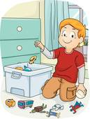 Putting away toys clipart 4 » Clipart Station.