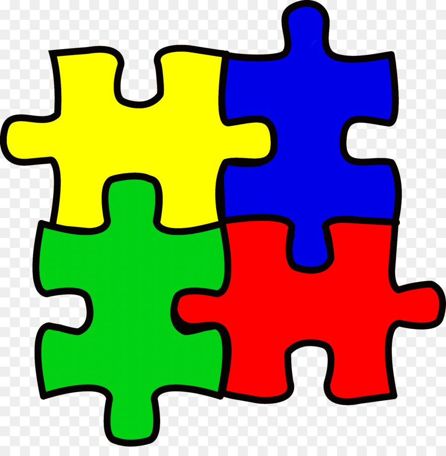 green clip art jigsaw puzzle line puzzle.