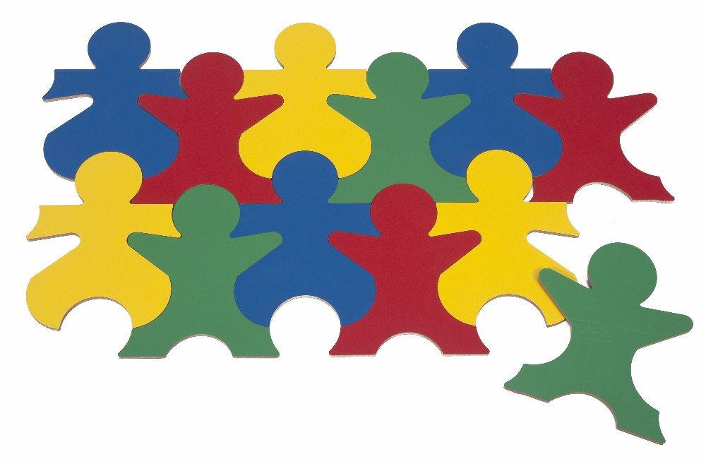 Clipart Puzzle Piece People.