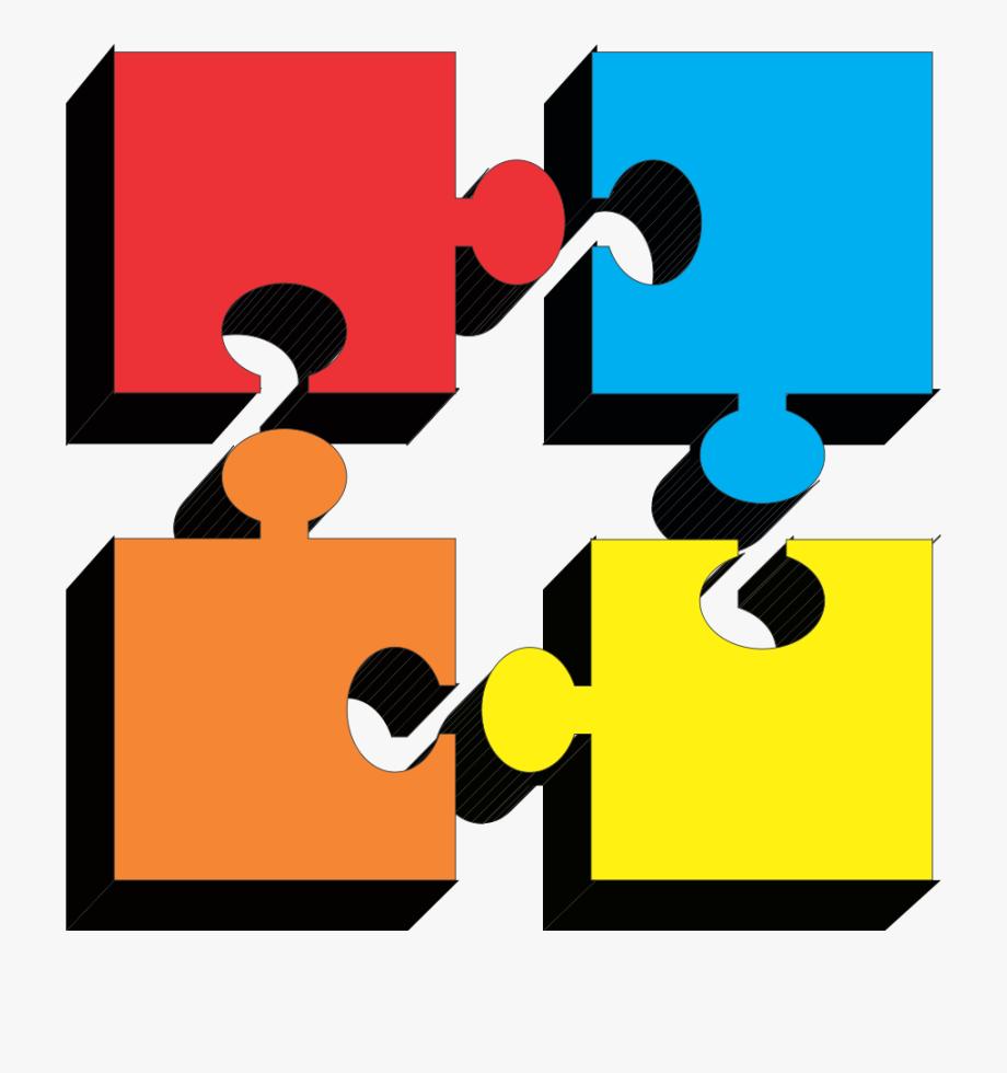 Puzzle Pieces Clipart.