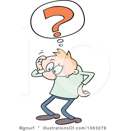 Clipart Of Confused Person.