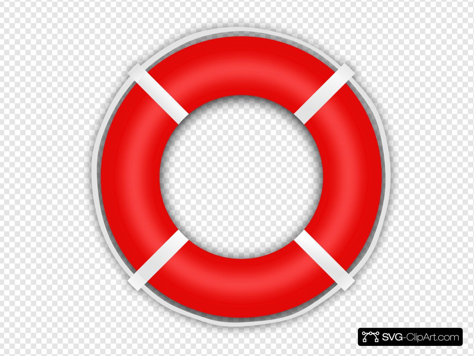 Lifesaver Clip art, Icon and SVG.