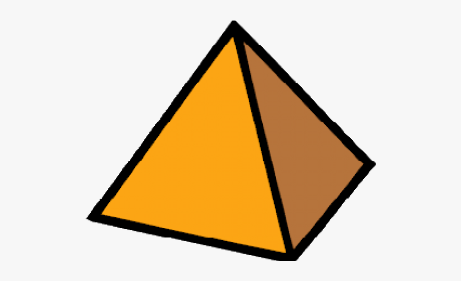 Pyramid Clipart Triangle Shaped Object.