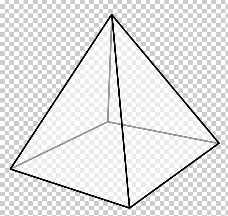 Square Pyramid Shape Triangle PNG, Clipart, Angle, Apex.