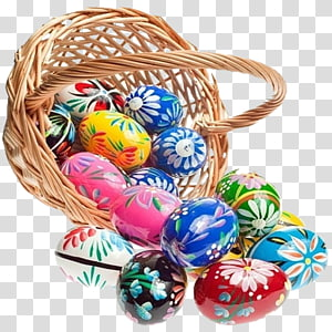 Pysanka transparent background PNG cliparts free download.