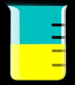 Yellow Beaker Clip Art at Clker.com.