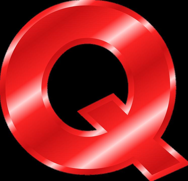 Free vector graphic: Alphabet, Q, Abc, Letter.