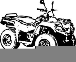 Quad Motorcycle Clipart.