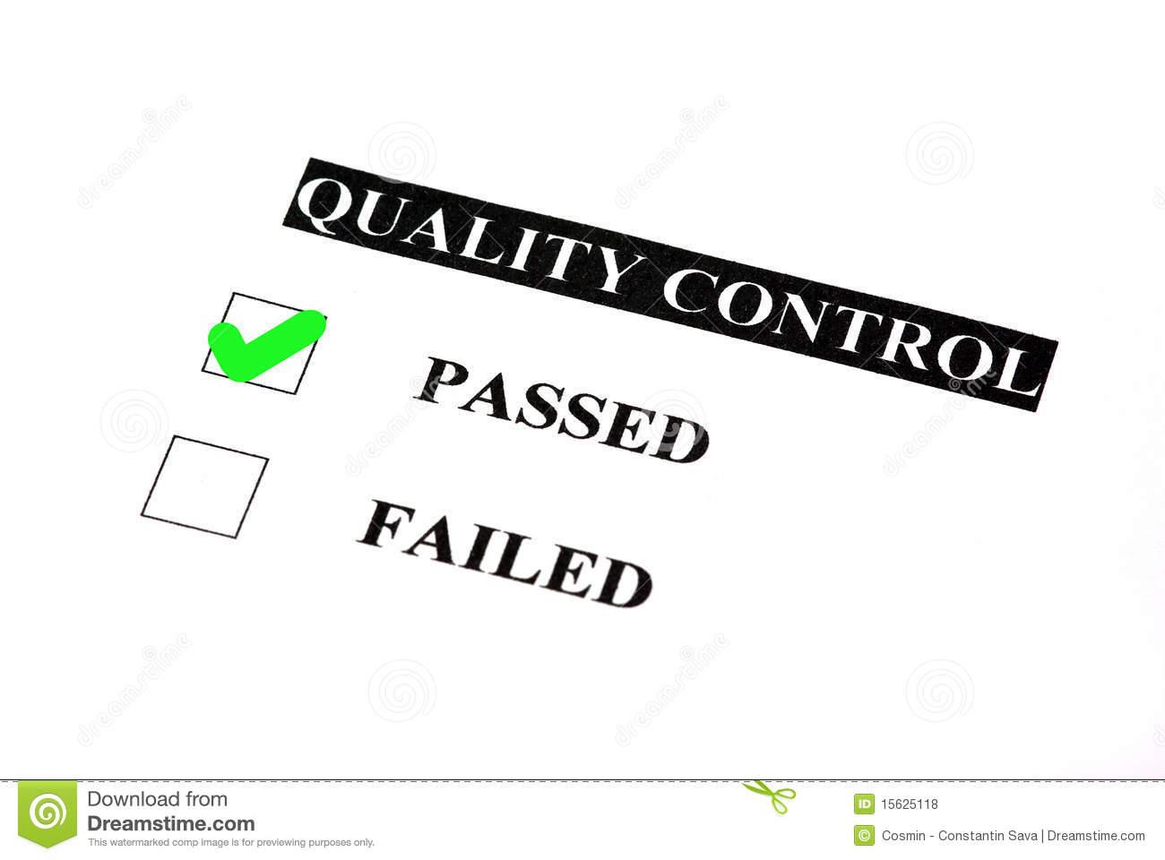 Quality Assurance Clipart.