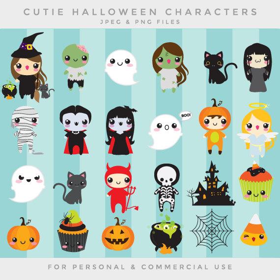Halloween cute clip art.