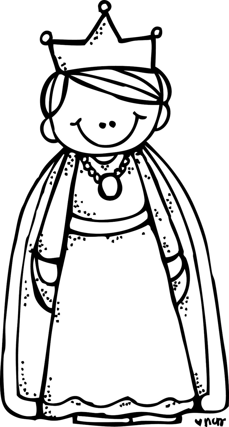 Queen Clipart Png Black And White.