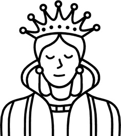 Queen Clipart Images Black And White.