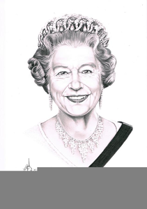 Clipart Queen Of England.