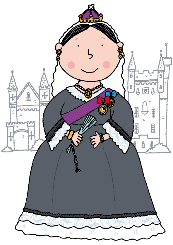 Queen Victoria Illustration.