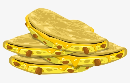 Free Quesadilla Clip Art with No Background.