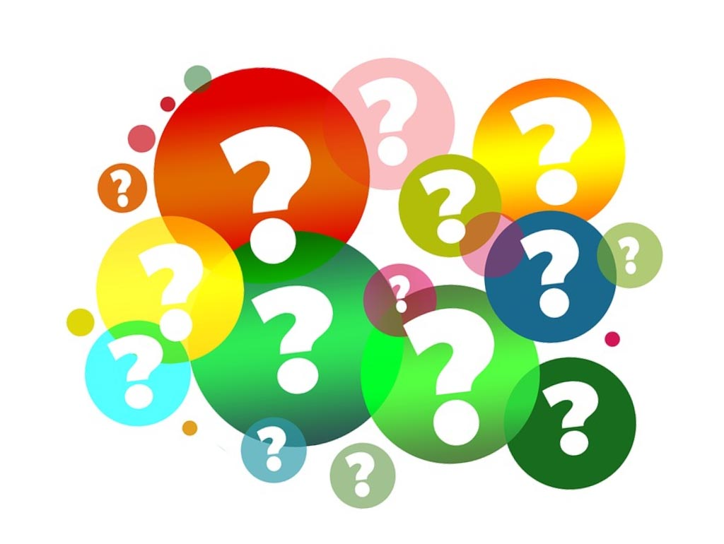 Colorful Question Mark Clipart.