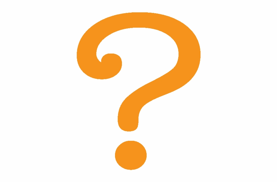 Orange Question Mark.
