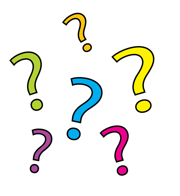 284 Question Marks free clipart.