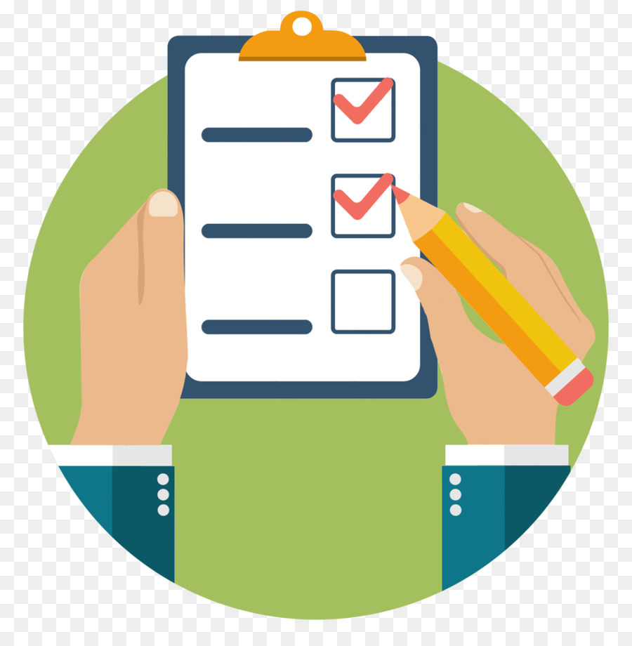 Checklist Clipart png download.