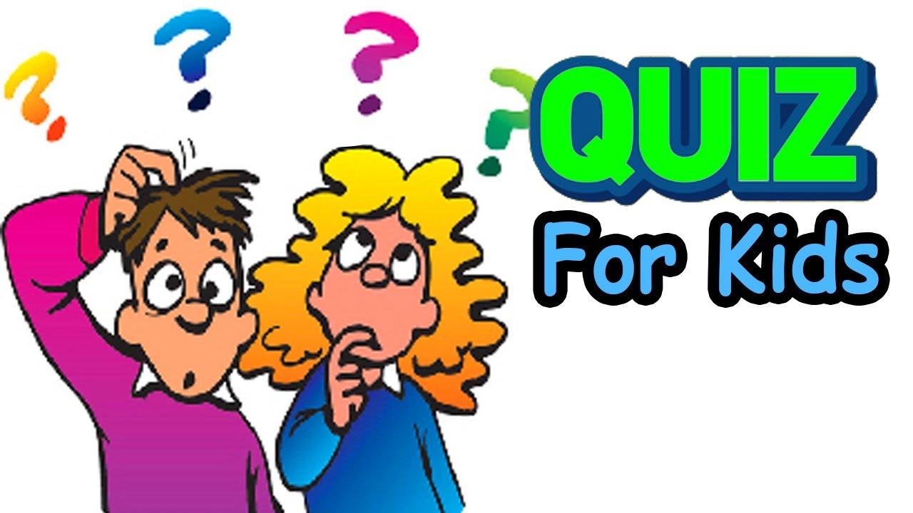 Kids Quiz Clipart.