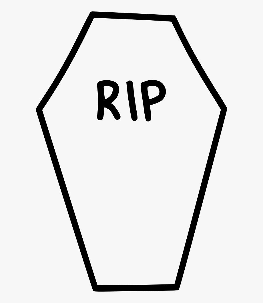 Coffin Clipart Rip.