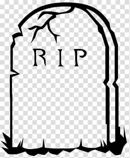 RIP transparent background PNG clipart.