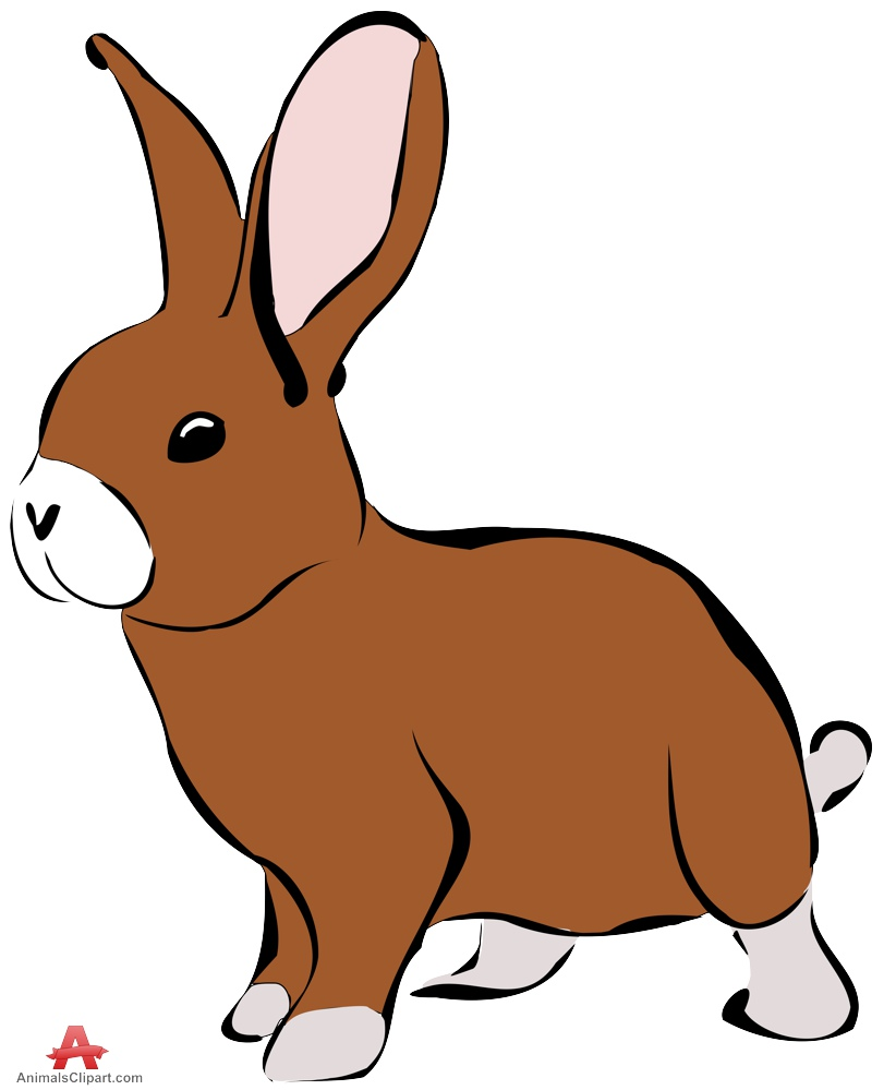 Rabbit clipart 7 » Clipart Station.