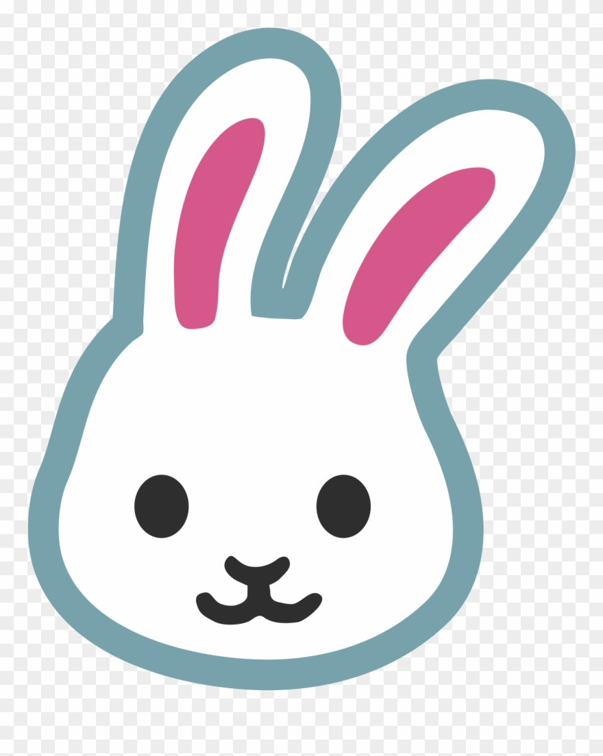 Vector Rabbit Face.